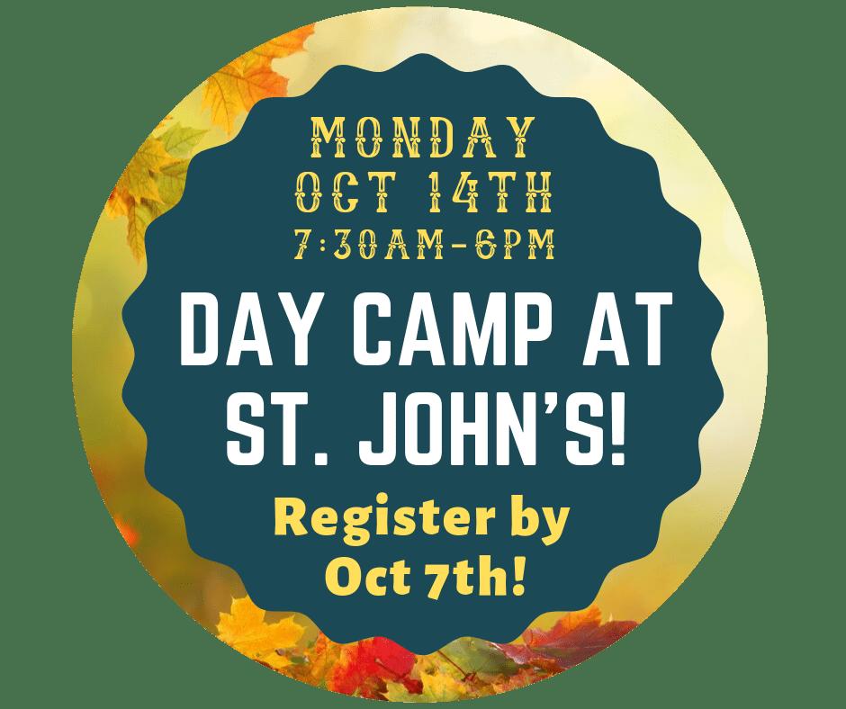 DAY CAMP AT ST. JOHNS