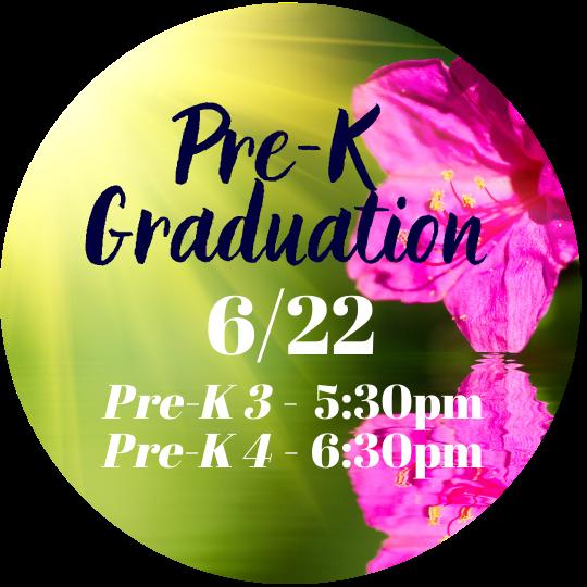 Pre-K 3 & Pre-K 4 Graduation